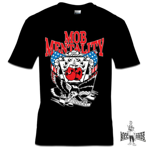 T-SHIRT SKINHEAD MOB MENTALITY NEU S-3XL Oi Skinhead Streetpunk Punk Oi!