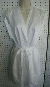 Secret Kimono Bianco Pz Slip Taglia 2 Pizzo New Satin E S Victoria T0wHq5