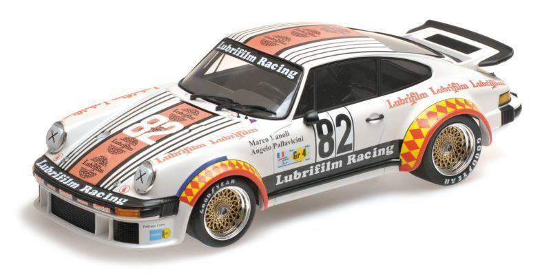 PORSCHE 934 Mueller pallaviccini Vanoli MIS. 4 Winners 24h Le Mans 1979 1:18 Model