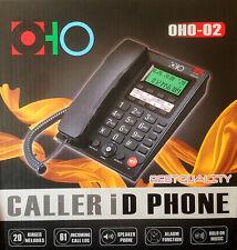 Telefono fisso TASTI GRANDI VIVAVOCE DISPLAY ANZIANI UFFICIO CASA HOTEL FSK/DTMF