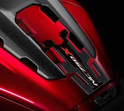ENSEMBLE AUTOCOLLANTS ADHESIFS LIGNE SPORT HONDA NC750X ROUGE