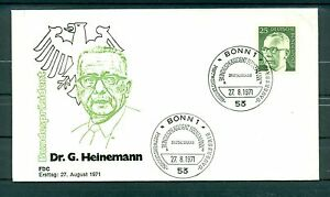 Allemagne-Germany-1971-Michel-n-689-Timbre-poste-ordinaire-III