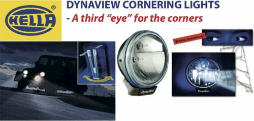 Trucks Pickups 4x4 UTEs Hella DynaView Cornering Driving Lamp: Extra safety