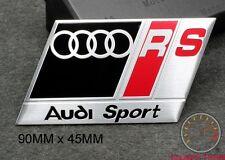 AUDI RS SPORT EMBLEM SCHRIFTZUG (BK) A3 A4 S4 S3 Quattro RS TT S LINE A5 A6 DTM