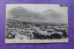 Postal-Posatle-Antigua-Chambery-Vista-General-Montes-Nivolet-Y-Penay