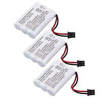3x 3.6v 800mah 3aaa Cordless Phone Battery For Uniden Bt-446 Bt1005 Bt-446