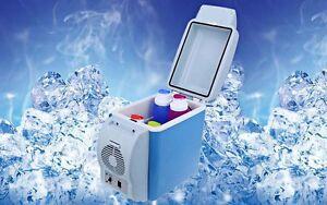 Portable Mini Fridge Car Refrigerator Cooler Warmer 6 Litres