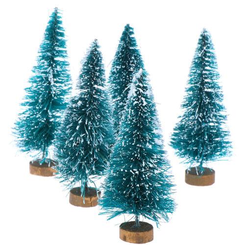 12 Dollhouse Miniature Christmas Tree Christmas Decorations Supplieh3 5Pcs 1