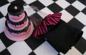 Enjoyable Monster High Draculaura Sweet 16 1600 Doll Clothes Black Top Funny Birthday Cards Online Hendilapandamsfinfo