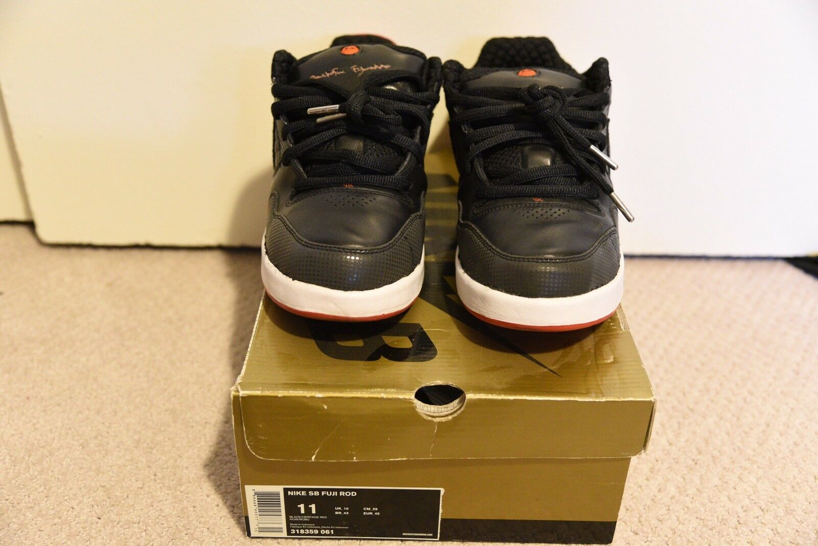 Nike SB Fuji Rod As Size 11 PADS Pass As Rod Deadstock 50bfc3