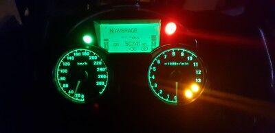 led clock upgrade kit lightenUPgrade WHITE KAWASAKI ZX10R C1H C2H 04 TO 05