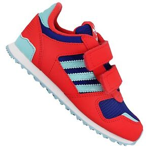 quality design 13449 032db Rojo Azul Cf De Niña Adidas Zx 700 Pequeño Originals Zapatos Niño Infant  34AL5qjR