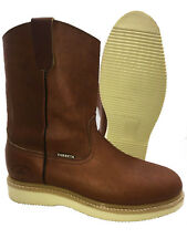 d728c52bd47 Craftsman Kahn Brown Men's Soft Toe Leather Work Boot Slip Oil ...