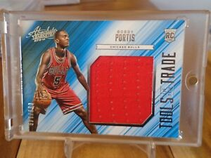 2015-16-PANINI-ABSOLUTE-BOBBY-PORTIS-RC-JERSEY-066-149-BULLS