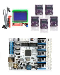 3D Printer Kits GT2560 Controller board+LCD 2004+5pcs A4988 Stepper Drivers