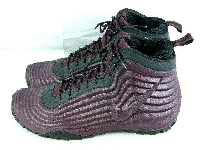 7028cc8448930 Nike ACG Lunardome 1 Sneakerboot 654867-669 Deep Burgundy   Black Men s  size 12