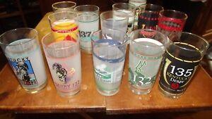 5-Kentucky-Derby-Mint-Julep-Glasses-Derby-039-s-128-131-134-140-144