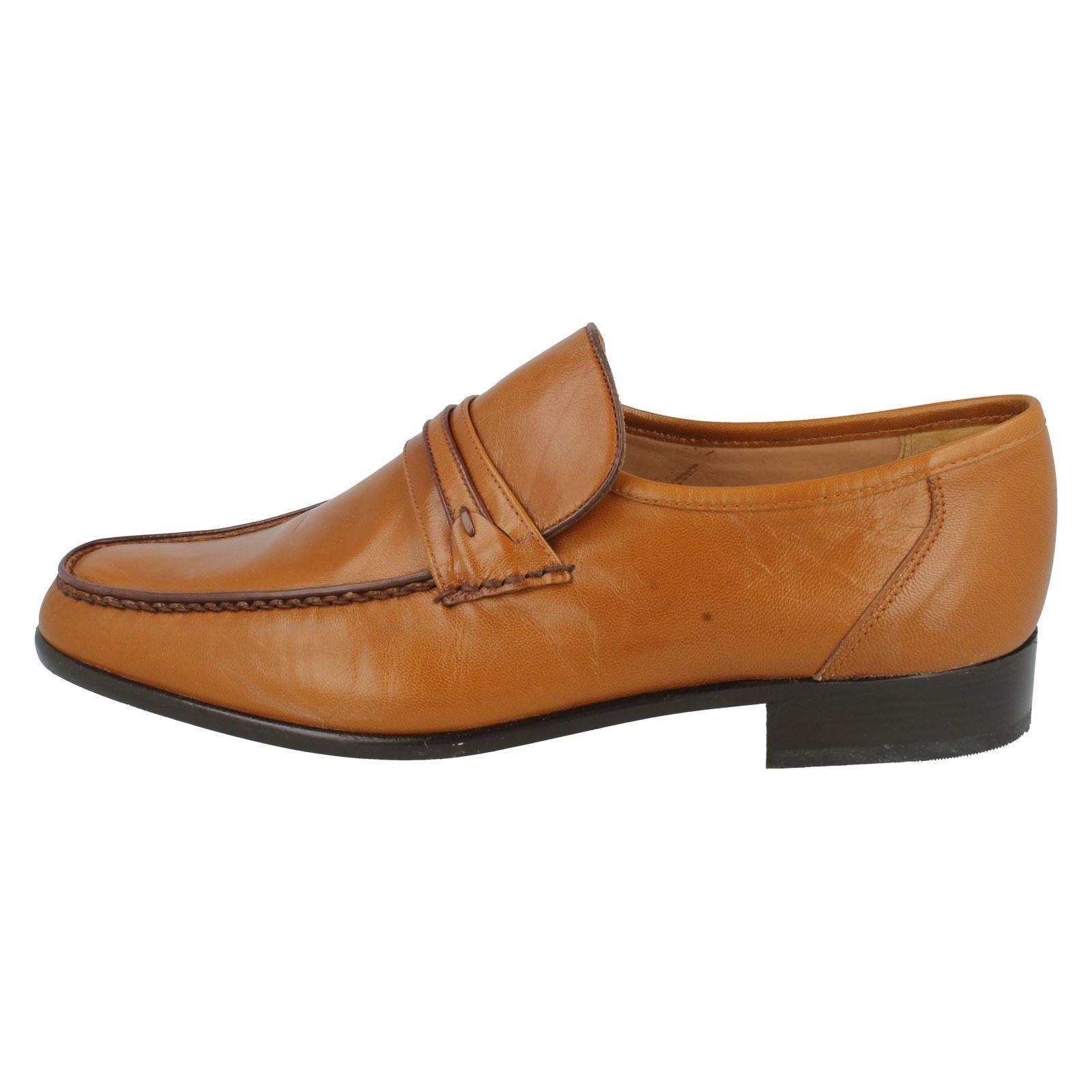 Herren Grenson Leder Party Mokassin Stil Smart ohne Bügel Party Leder Schuhe Albany 9fbf7f