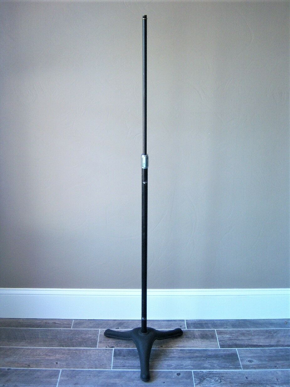Vintage RARE 1950's American FH3 floor stand D9T DR330 Atlas old used Shure