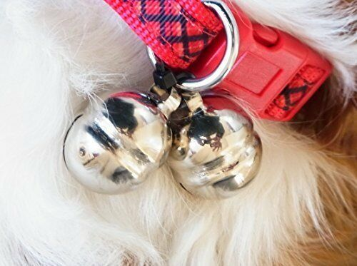 Details about  /Falconry bells medium High Tone Lahori Bells Pair Nickle Plated Handmade Bell