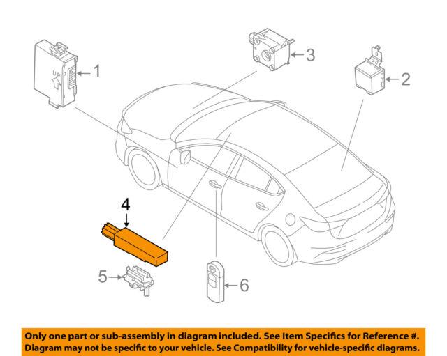 2018 Mazda Cx5 Oem Keyless Antenna Sensor Kd45676nxa Ebayrhebay: Mazda 6 Radio Antenna At Gmaili.net