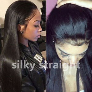 Details about Indian Remy Full Lace Wig Lace