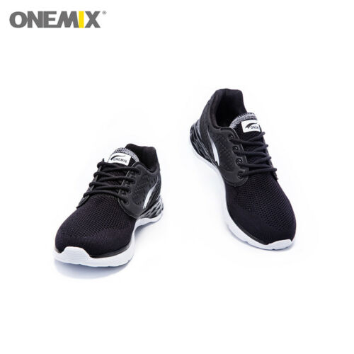 Onemix Men/'s Sneakers Summer Cool Walking Anti-skid Rubber Outsole Running Shoes