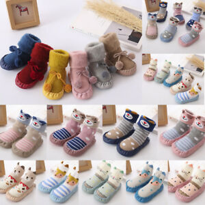 Toddler Baby Boy Girl Socks Cotton Children Floor Socks Anti-Slip Baby Step Sock