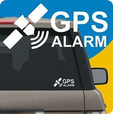 2 ADESIVI TRACKER GPS LOCALIZZATORE ANTIFURTO ALLARME SATELLITARE AUTO CAMION
