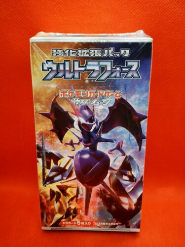 Sun And Moon Ultra Force Pokémon Display box booster carte cards SM5