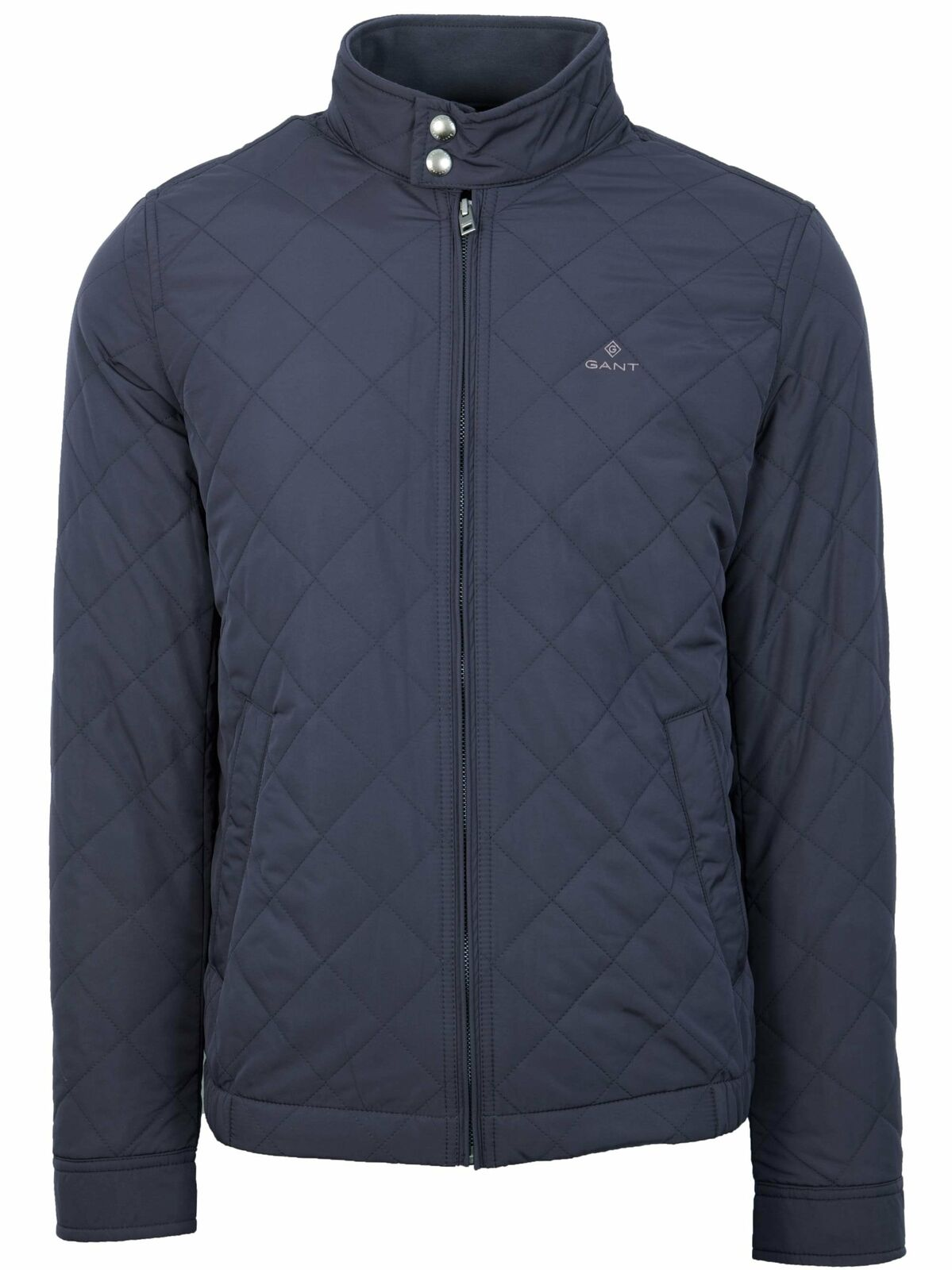 GANT Evening Blau Quilted Windcheater Jacket