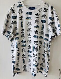 Adidas-25-Originals-Chaussure-Pop-T-Shirt-Medium-S24560-Tee-Sneaker-Trainer-Print-rare