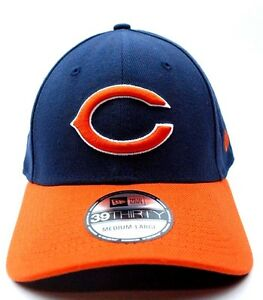 0f96bb40429 Image is loading Chicago-Bears-New-Era-39Thirty-NFL-Football-TD-