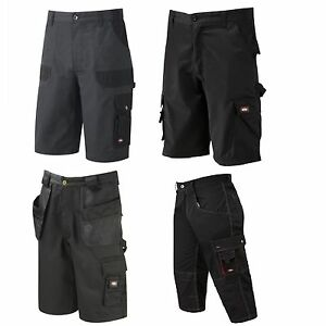 3abdfceb6c0 Mens Lee Cooper Workwear 3/4 pant Cargo Short Holster Pocket Shorts ...