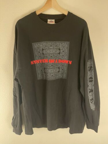 System Of A Down Persian Rug Long Sleeve Shirt