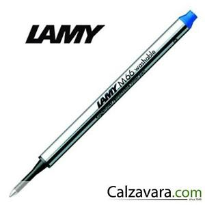 Lamy Refill M66 per Penna Roller -  Capless Rollerball - Punta Media - Blue