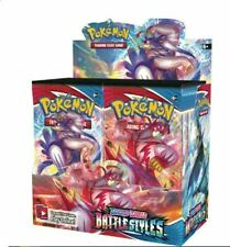 Battle Styles Sword & Shield Booster Box Pokemon TCG English Sealed Presell