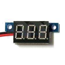 Mini DC 0-30V 2-Wire Voltmeter Red LED Display Volt Meter Digital Panel Meter