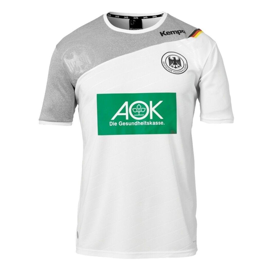 Kempa DHB Heimtrikot 2017/2018 weiß Deutscher Handballbund