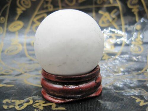 WHITE PEARL SARIRA PRA TATH SAREEBUTTA SAKAYAMUNEE RELICS THAI AMULET HOLY LUCKY