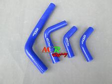 for Honda CRF250 CRF250X CRF250R 2004-2009 silicone radiator hose blue