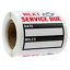 Oil-Change Service Reminder Stickers Clear Window Lite Stock 100 Pcs Stickers
