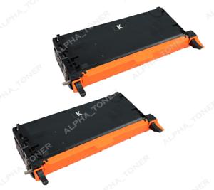 2 Pack Black Toner Cartridge Compatible For Dell 3115 BK 3110 3110cn 3115 3115cn