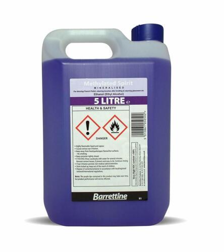 Barrettine minéralisées methylated spirit 4 x 5 L