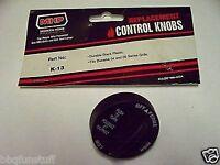 Ducane Gas Grill Durable Black Face Gascontrol Knob K-13