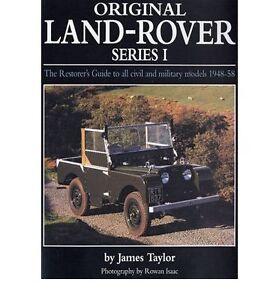 original land rover series 1 1948 1958 restorer s guide workshop rh ebay co uk land rover series 1 workshop manual land rover series 1 instruction manual