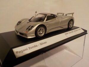 Pagani-Zonda-Argent-concepteur-Modele-diecast-metal-model-echelle-1-43