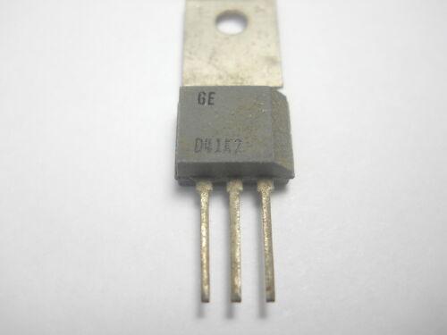 O2 QTY 5 ea D41K2 PNP 5 Volt 200 mA Transistor GE