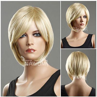 Female blond Wig Mannequin Head Hair #WG-ZL93-27T613