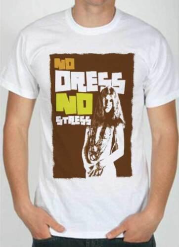 T-Shirt Janis Joplin, maglietta  rock anni 70, woodstock era, no dress no stress